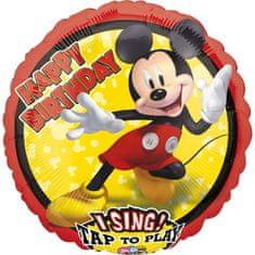 Amscan Fóliový balónek Mickey Mouse 71x71cm hrající