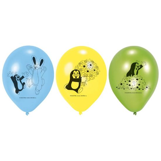 Amscan Latexový balónek 6ks Krtek 22,8cm