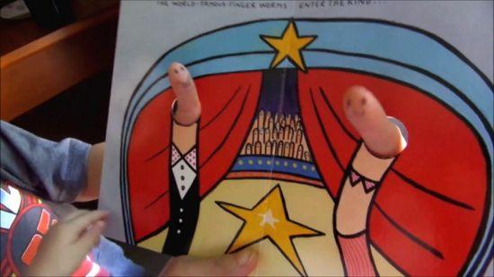Hervé Tullet Hra na cirkus - The Finger Circus Game