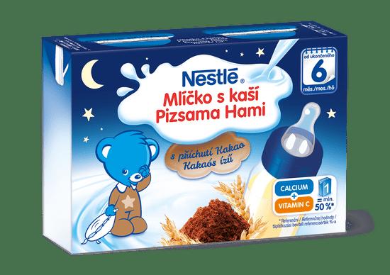 Nestlé Mlíčko skaší Kakaové 6x (2x 200 ml)