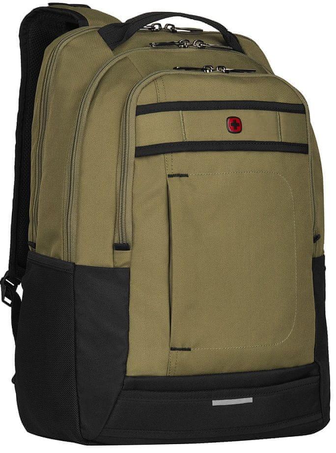 "Wenger CRINIO - 16"" batoh na notebook, olivový (606483)"