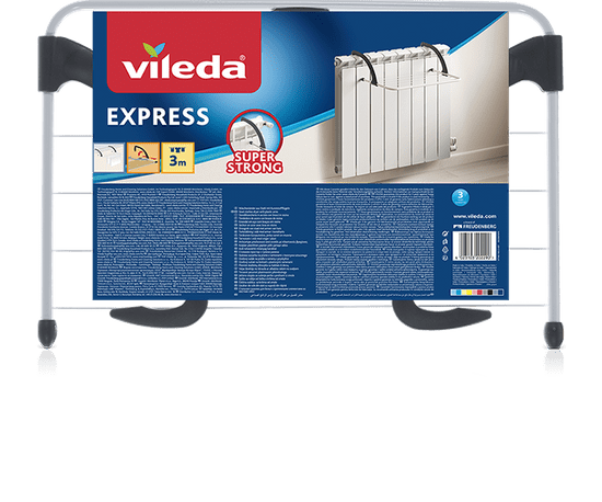 VILEDA Sušiak na bielizeň Express 3 m