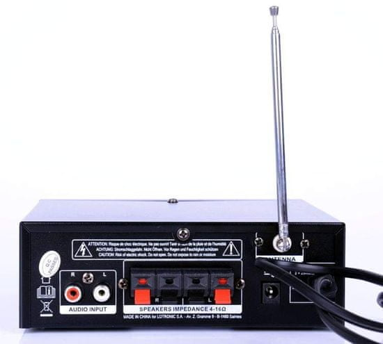 PARTY Light & Sound PLS1250USB-RC