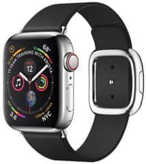 Coteetci COTEetCI kožený magnetický řemínek Nobleman pro Apple Watch 38 / 40 mm WH5200-KK, černá