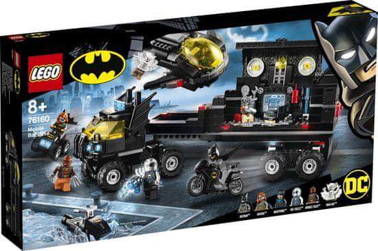 LEGO Super Heroes 76160 Mobilna baza Batmana - Odprta embalaža