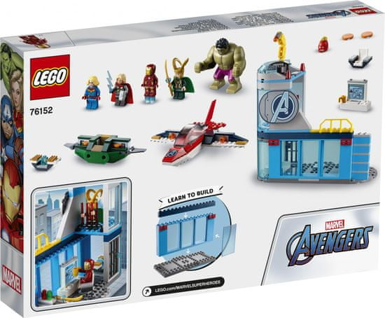 LEGO Super Heroes 76152 Avengers – Lokijeva jeza