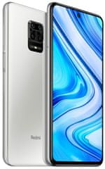 Xiaomi Redmi Note 9 Pro, 6GB/64GB, Global Version, Glacier White