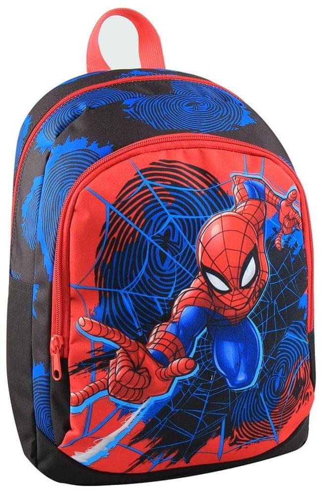 MaDe Batoh Spiderman s přední kapsou