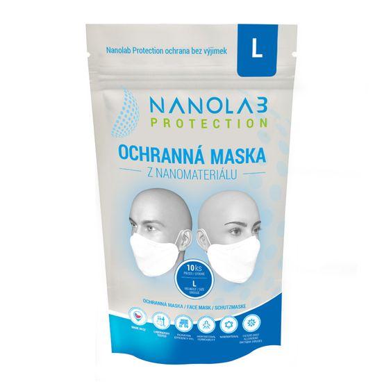 Nanolab Protection Ochranná nano rouška - Balení 10 ks - Velikost L