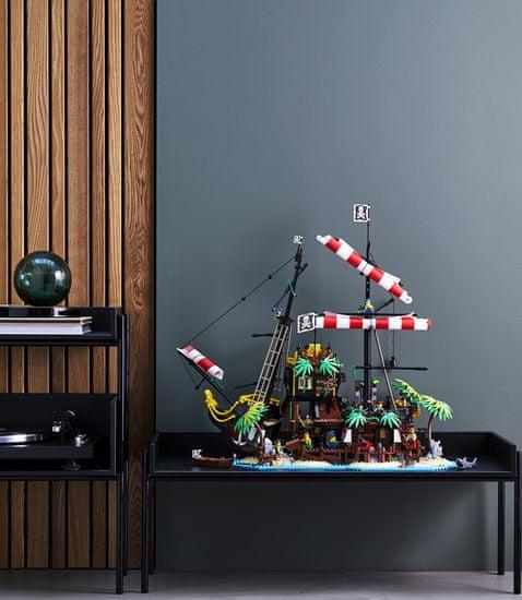 LEGO Ideas 21322 Piratski zaliv Barracuda - Odprta embalaža