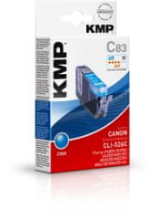 KMP Canon CLI-526C (Canon CLI 526 C) modrý inkoust pro tiskárny Canon
