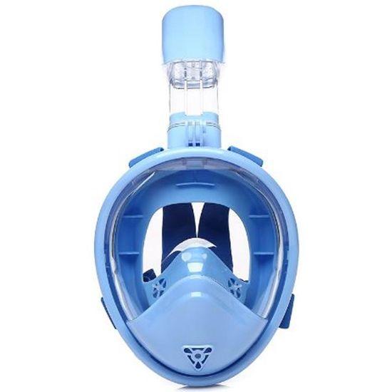 Spartan K-1 maska za ronjenje i disalica, dječja, svijetlo plava