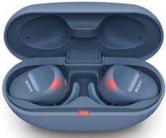 Sony WF-SP800N slušalke, modre