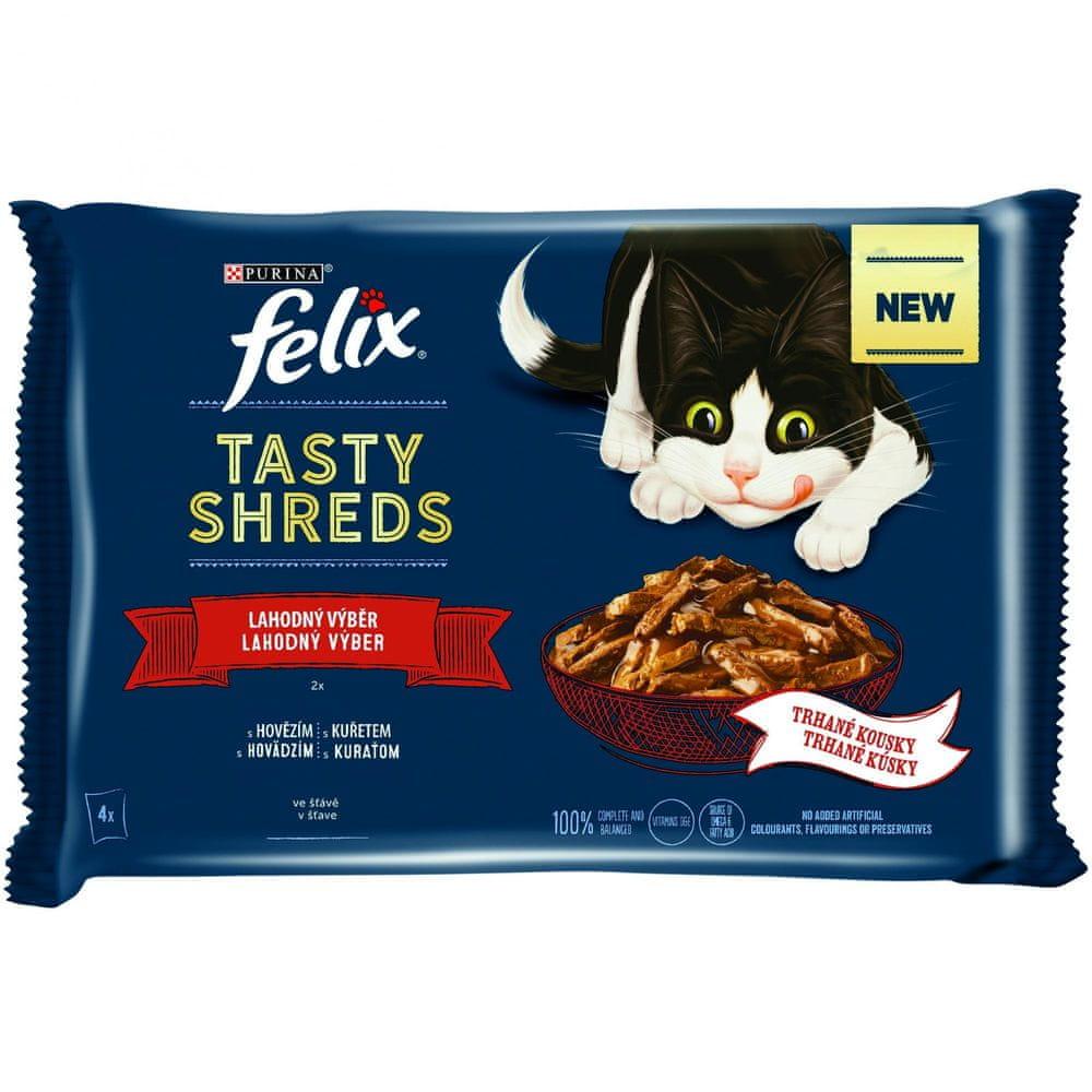 Felix Shreds lahodný výběr ve šťávě 12x(4x80 g)