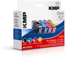 KMP Canon PGI-525 + CLI-526 Multipack (Canon PGI-525 + CLI 526 Multipack) sada inkoustů pro tiskárny Canon