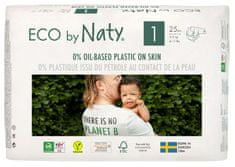 ECO by Naty Plenky 1 Newborn (2-5 kg) 25 ks