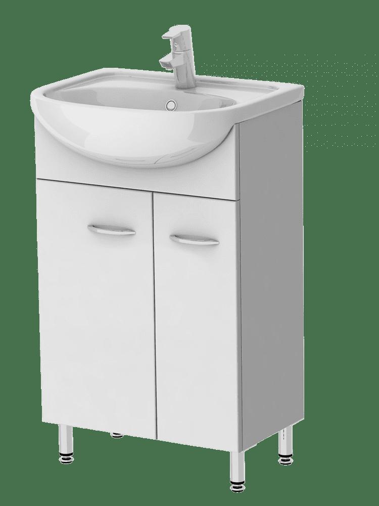 Kingsbath Draco 55 koupelnová skříňka s umyvadlem