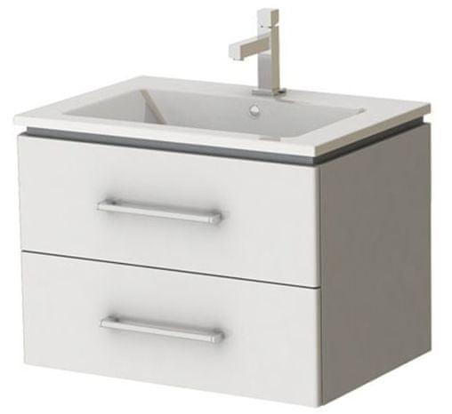 Kingsbath Andromeda 65 koupelnová skříňka s umyvadlem