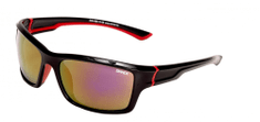 SINNER okulary sportowe Cayo Black/Red