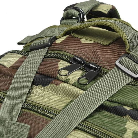 shumee Nahrbtnik v vojaškem stilu 50 L maskirne barve
