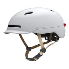 Livall SH50L mestna čelada, pametna, L, bela
