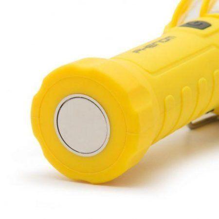 PHENOM Retro USB COB LED delovna svetilka s signalno lučjo
