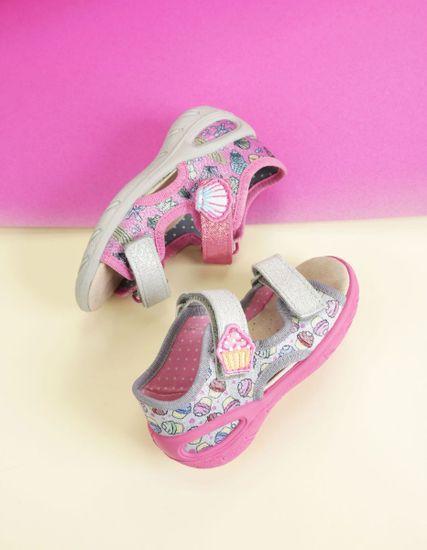 Befado dekliški sandali Sunny 065X135