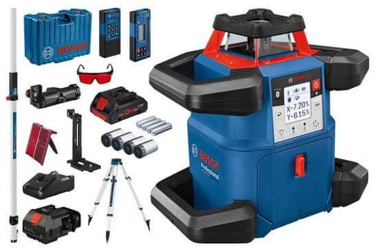BOSCH Professional GRL 600 CHV rotacijski laser + BT 170 + GR 240 + LR 50 + RB 60 + WM 6 + RC 6 (06159940P5)