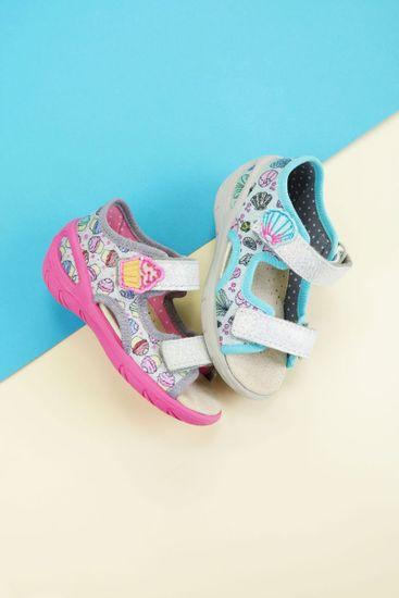 Befado sandały dziewczęce Sunny 065X133