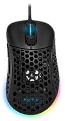 Sharkoon Light² 200 gaming miš, crna