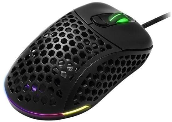Sharkoon Light² 200 gaming miška, črna