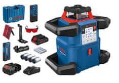 BOSCH Professional GRL 600 CHV rotacijski senzor + LR 50 + RB 60 + WM 6 + RC 6 (0601061F00)