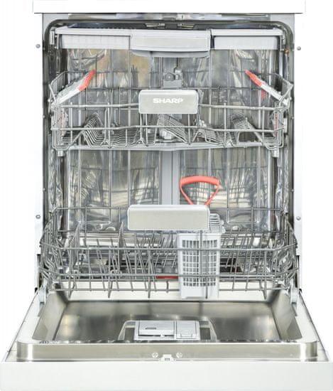 Sharp myčka nádobí QW HY26F393W-DE + 10 let záruka na motor