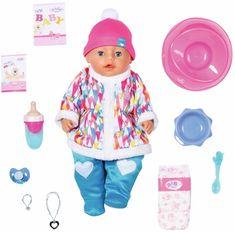 BABY born Soft Touch, deklica v zimskih oblačilih, 43 cm