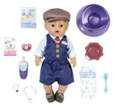 BABY born Soft Touch, chlapeček v elegantním oblečení, 43 cm