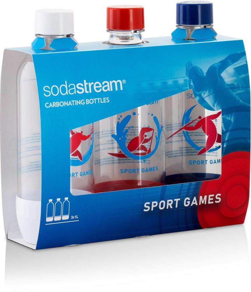 SodaStream Lahev JET 3 x 1l SPORT GAMES