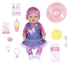 BABY born Soft Touch - dziewczynka w dżinsowej sukience, 43 cm