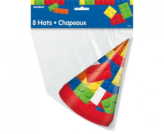 "GoDan Papierové klobúčiky ""Lego"" - 8ks"