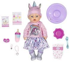 BABY born Soft Touch, holčička v jednorožčím oblečení, 43 cm - rozbaleno