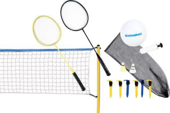 Scatch set za odbojko in badminton, 15-delni