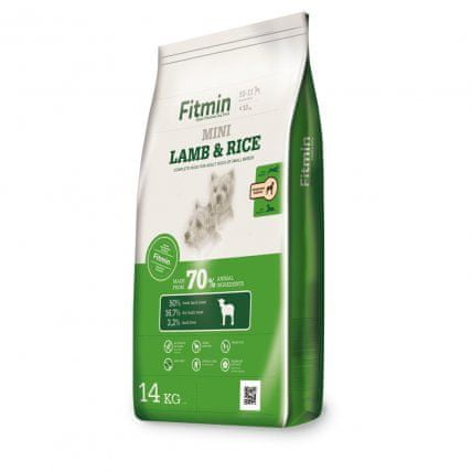Fitmin Dog mini lamb&rice 14 kg