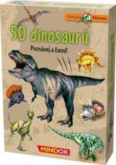 Mindok Expedícia príroda: 50 dinosaurov