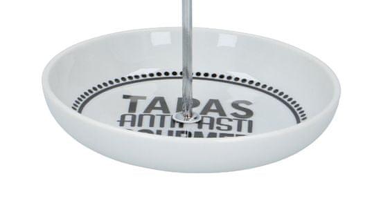 TimeLife Pladenj za začimbe 17,5 cm x 22 cm porcelanasta kovina