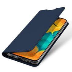 Dux Ducis Skin Pro knjižni usnjeni ovitek za Samsung Galaxy A20e, modro