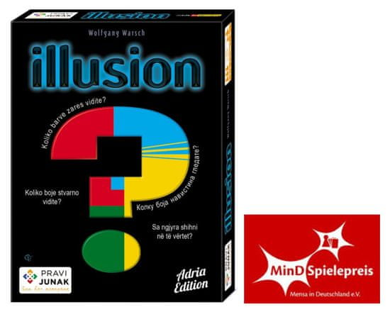 Pravi Junak igra s kartami Illusion