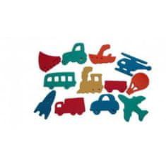 DENA Denalepky - zestaw dziecięcy, środki transportu