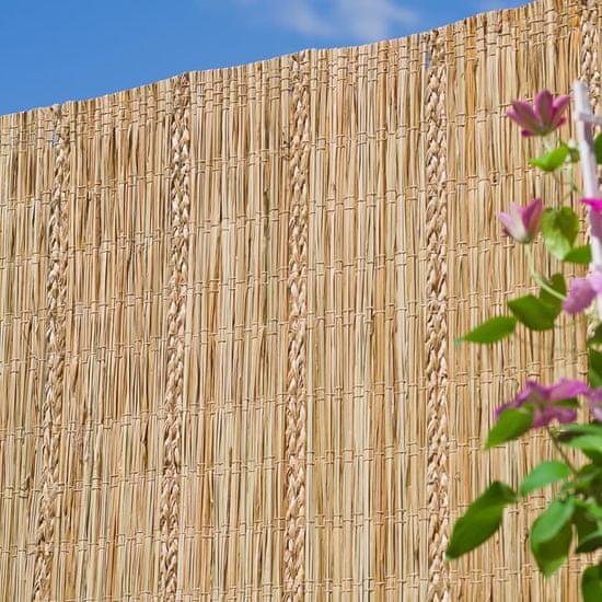 shumee Nature Vrtna pregrada iz Carex šašja 3x1,2 m