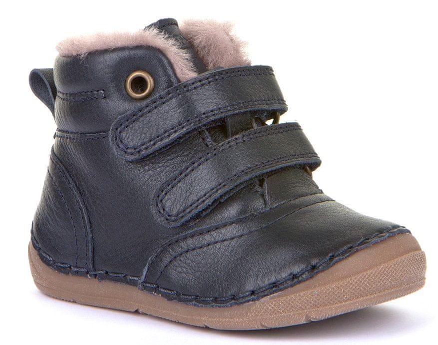 Froddo dětská kotníková zimní obuv G2110087 24 tmavě modrá
