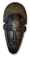 BaliTrade Vyřezávaná maska z tropického dřeva - 40 cm