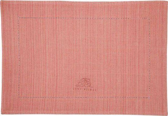 Lene Bjerre Podkładka bawełniana MERCY, łosoś, 48 x 34 cm